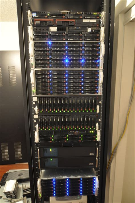 Small Home Server Rack Pushing Unlimited Fios To Its Limits Petermorin