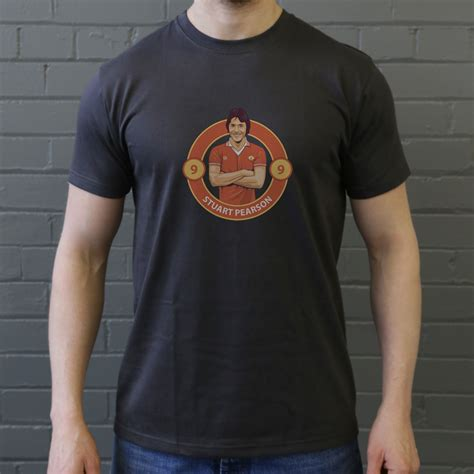 Tshirt Sablon United Stuart Pearson 70s United T Shirt From Tshirtsunited