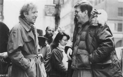 gene wilder funny about love gene wilder and leonard nimoy on the set of funny about