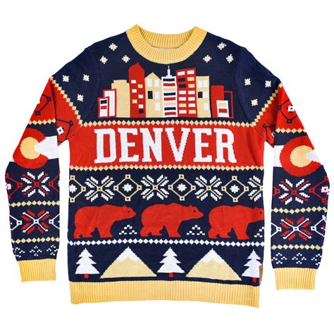 uber ran out of the free ugly denver holiday sweater but
