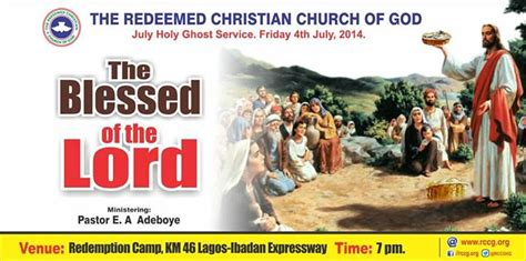 themes in this blessed house video rccg holy ghost service july 2014 theme the