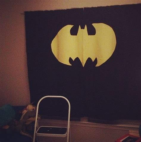 batman curtain batman curtains for a superhero loving kid get wider
