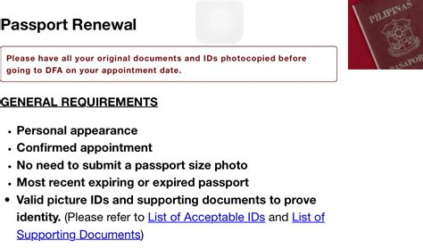 What Documents Are Needed To Renew A Passport