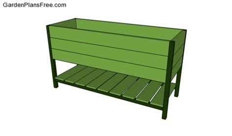 Raised Planter Box Plans by Elevated Planter Box Images Frompo
