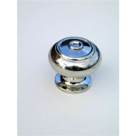 small bloxwich period cupboard knobs polished nickel from