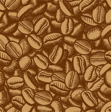 pattern coffee vector coffee beans vector free vector download 1 307 free