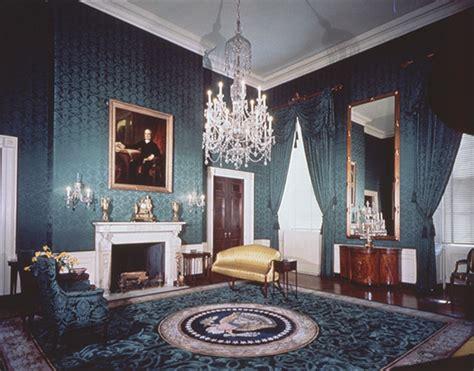 the white house interiors today in history october 13 library of congress
