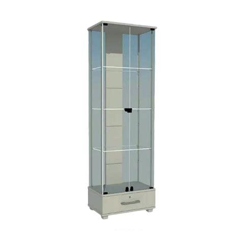 Terbatas Jepitan Gantungan Etalase Handphone jual creova etalase kaca lemari hias putih harga kualitas terjamin blibli