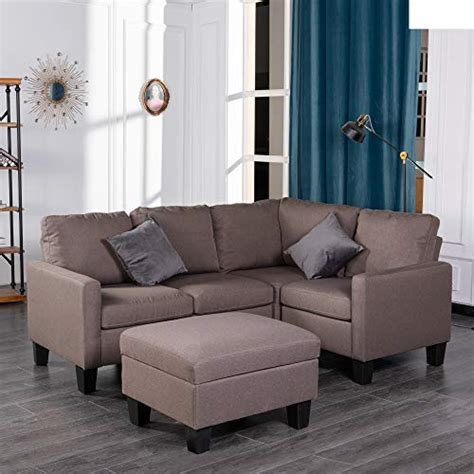good gracious modular convertible sectional sofa set
