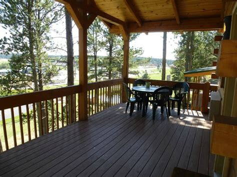 Rock Crest Lodge Cabins Custer Sd by Deck Picture Of Rock Crest Lodge Custer Tripadvisor