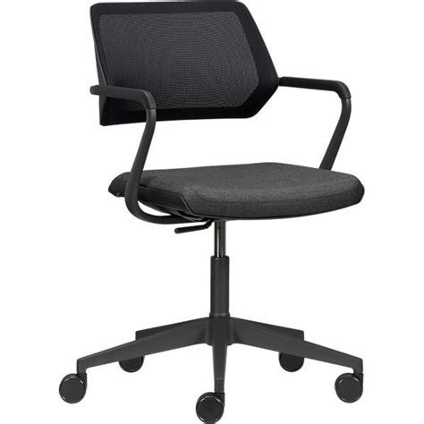 steelcase 174 qivi office chair crate and barrel