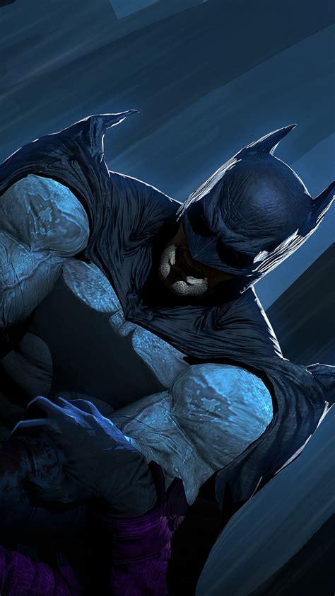 wallpaper batman joker artwork  creative graphics