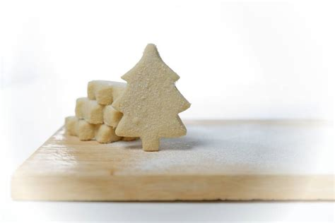 box of christmas tree shortbread by shortbread gift