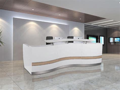 office front desk design 3 3m 10 8ft wholesale salon wood office reception front