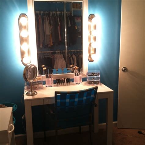 Handmade Makeup Vanity - my diy makeup vanity 17 best ideas about vintage makeup