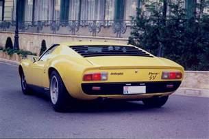 Vintage Lamborghini Vintage Supercar Gallery 1965 Lamborghini Miura