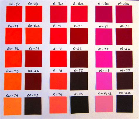 shades of red color palette and chart with color names red color shades red color shades enchanting it s quot wine