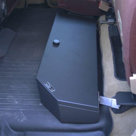 car seat gun safe suvault 174 2009 2018 f150 crew cab seat gun safe