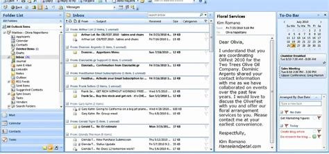 email microsoft how to arrange email messages by date or sender in