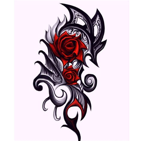 scottish rose tattoo celtic four stunning pictures 10