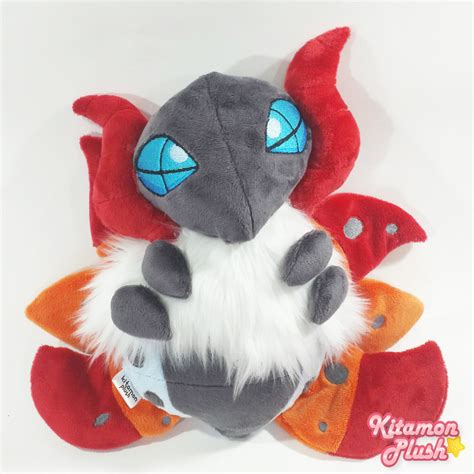 custom stuffed animals volcarona custom plush by kitamon on deviantart