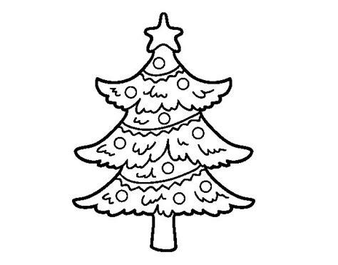 arbol navidad dibujo dibujo de 193 rbol de navidad decorado para colorear