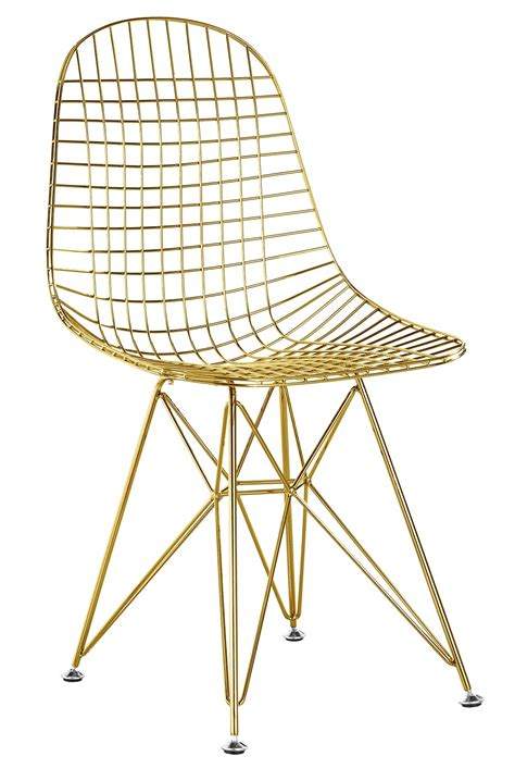 Wire Dining Chair Wire Chair In Gold Finish Gold Wire Side Dining Chair Advancedinteriordesigns