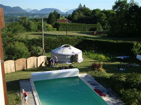 Hebergement Insolite Haute Savoie 1566 by Hebergement Insolite 224 Annecy Lac D Annecy Yourte De L
