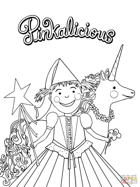 free coloring pages pinkalicious coloring pages to and print for free