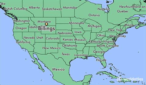billings montana on map of usa where is billings mt billings montana map