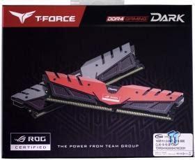Memory Pc Team T Rog 16gb Ddr4 Pc24000 3000mhz Dual Channel team t rog ddr4 3000 16gb memory kit review