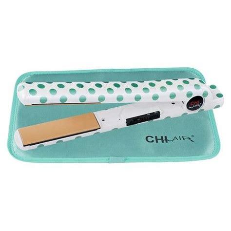 Flat Iron Mat by Chi Air 1 Quot Ceramic Flat Iron Mint Polka Dot With Free Thermal Mat Chi Straightners