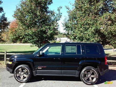 jeep patriot 2017 black 2017 black jeep patriot 75th anniversary edition 4x4