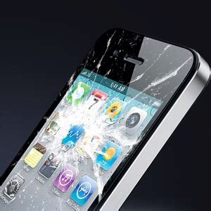 vetro rotto delliphone  puo cambiare  garanzia scopri la mela