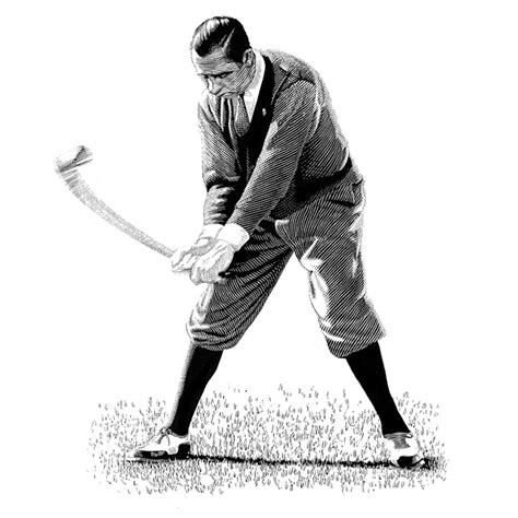 walter hagen golf swing keith witmer golf swing walter hagen golf illustration