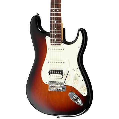Fender Usa American Standard Stratocaster Hss fender usa professional standard stratocaster hss 3 color sunburst rosewood fingerboard