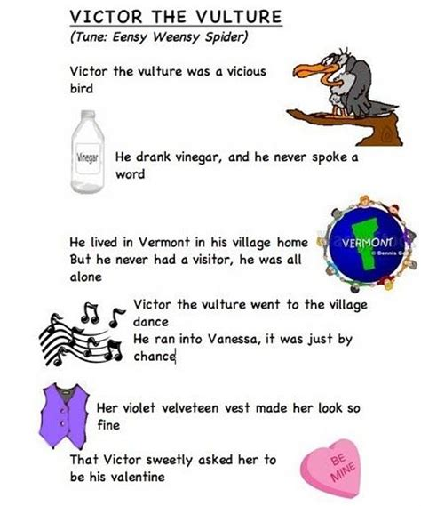 Letter Ve Song Victor The Vulture Frog Press Lyrics 5 Years Alphabet Letters And Leaves