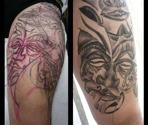 tiki tribal tattoo tribal tiki tattoos ilustrao stock istockphotocom