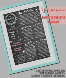 printable newsletter templates free family newsletter template printable contributor