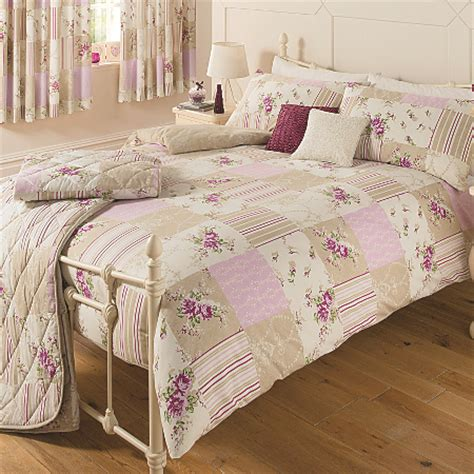George Home Eden Vintage Patchwork Duvet Range Bedding Asda Bed Sets