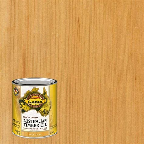 cabot  qt natural australian timber oil exterior wood