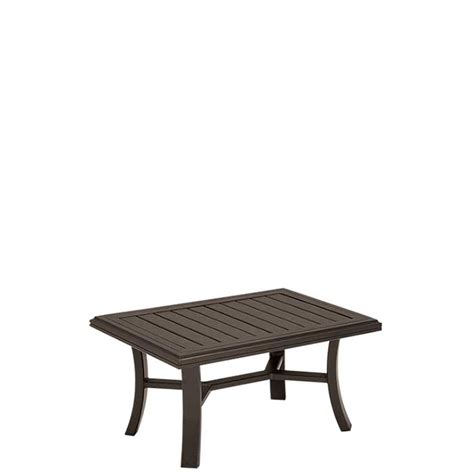 24 x 36 coffee table banchetto 36 quot x 24 quot rectangular coffee table tropitone