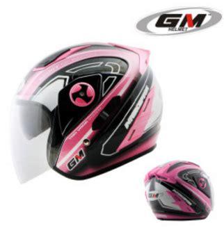 Helm Gm Race Pro 2 White Glossy Solid Racepro Visor Fullface rp 320 000