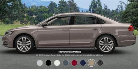2017 volkswagen passat trim levels and colors