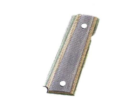 hogue fancy hardwood grips 1911 officer checkered lamo