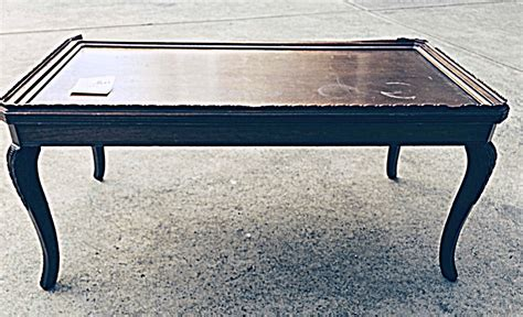 coffee table into bench repurpose a coffee table into a bench