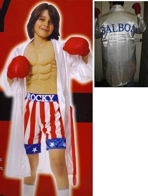 Rocky Balboa Makes 62 Million On Opening by Rocky Balboa Boxer Childs Sz Large Costume Boys