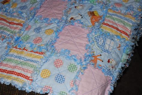 Rag Quilt Pattern Baby by You To See Baby Rag Quilt Baby On Craftsy