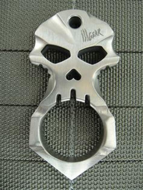 Edc Single Skull Knuckle brass knuckles knuckle duster bottle opener how to make two finger dusters diy