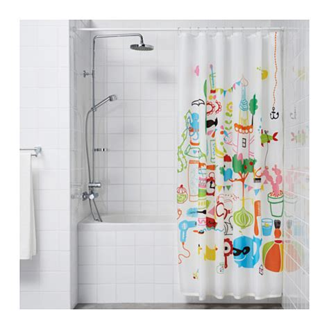 shower curtain rod ikea ore shower curtain rod white 110 200 cm ikea